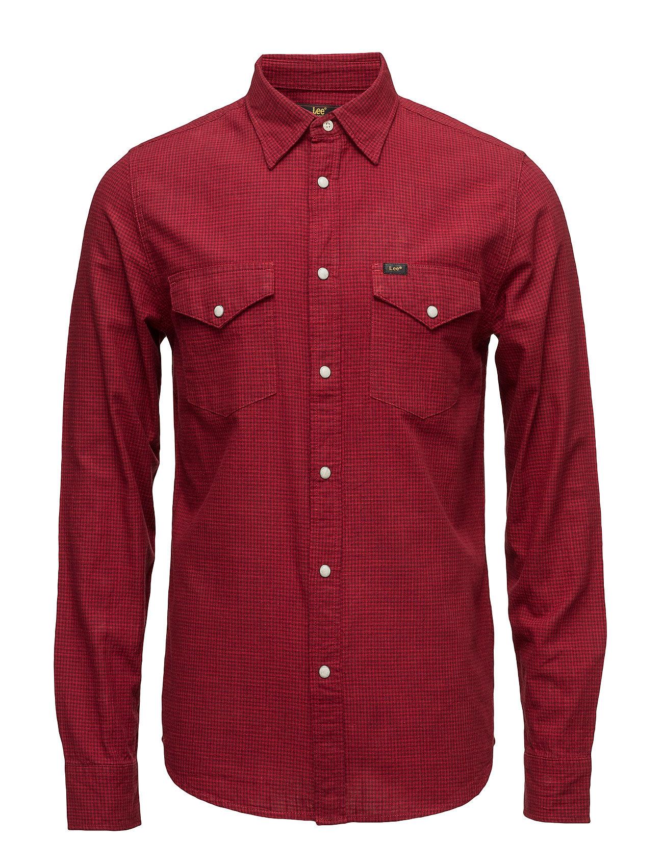 Lee Western Shirt Red Runner Lee Jeans Casual sko til Herrer i