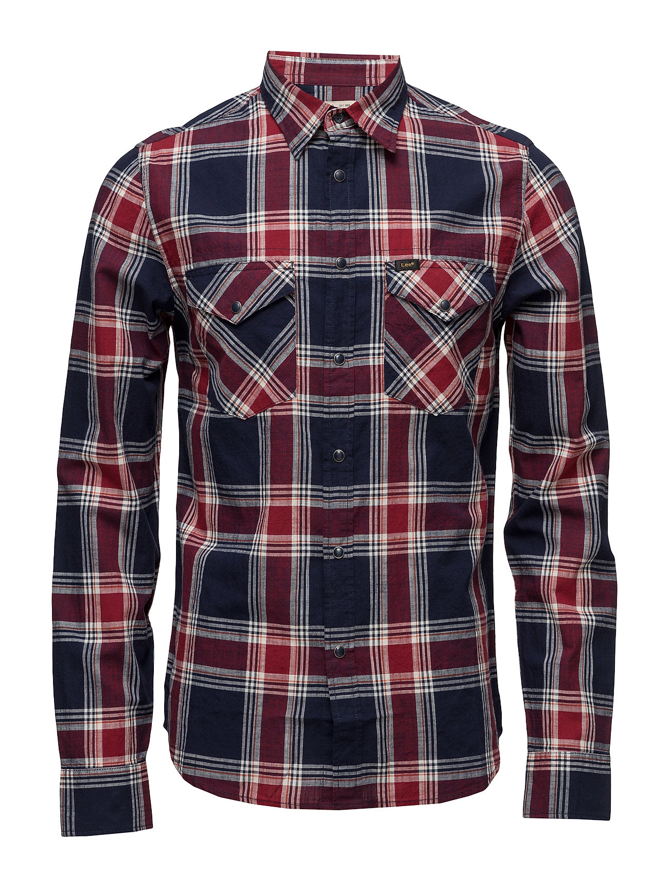 Lee Western Shirt State Blue thumbnail