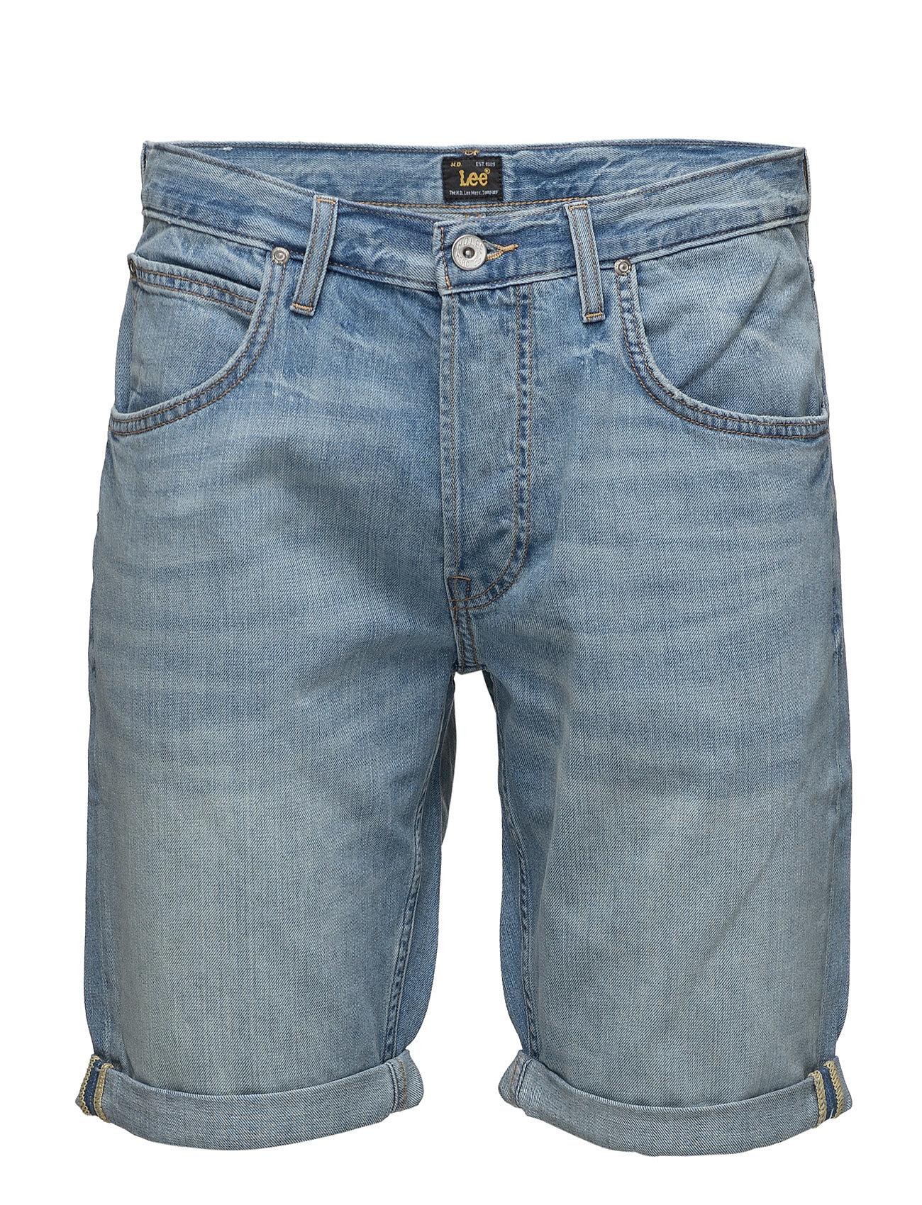 5 Pocket Short Sea Bleach Lee Jeans Denim til Herrer i