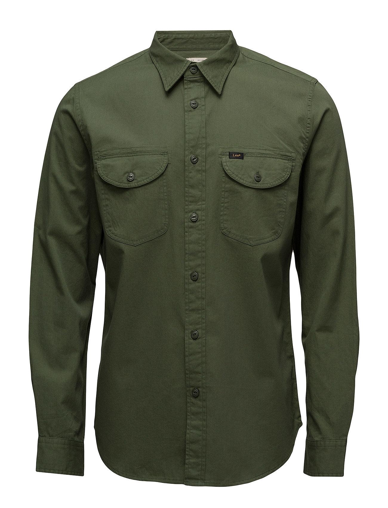 Lee Worker Shirt Military Green Lee Jeans Casual sko til Herrer i