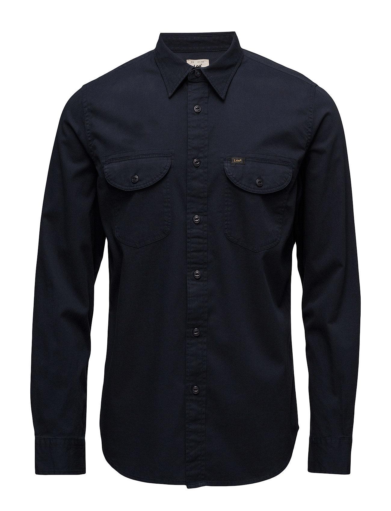 Lee Worker Shirt Night Sky Lee Jeans Casual sko til Mænd i Nattehimmel