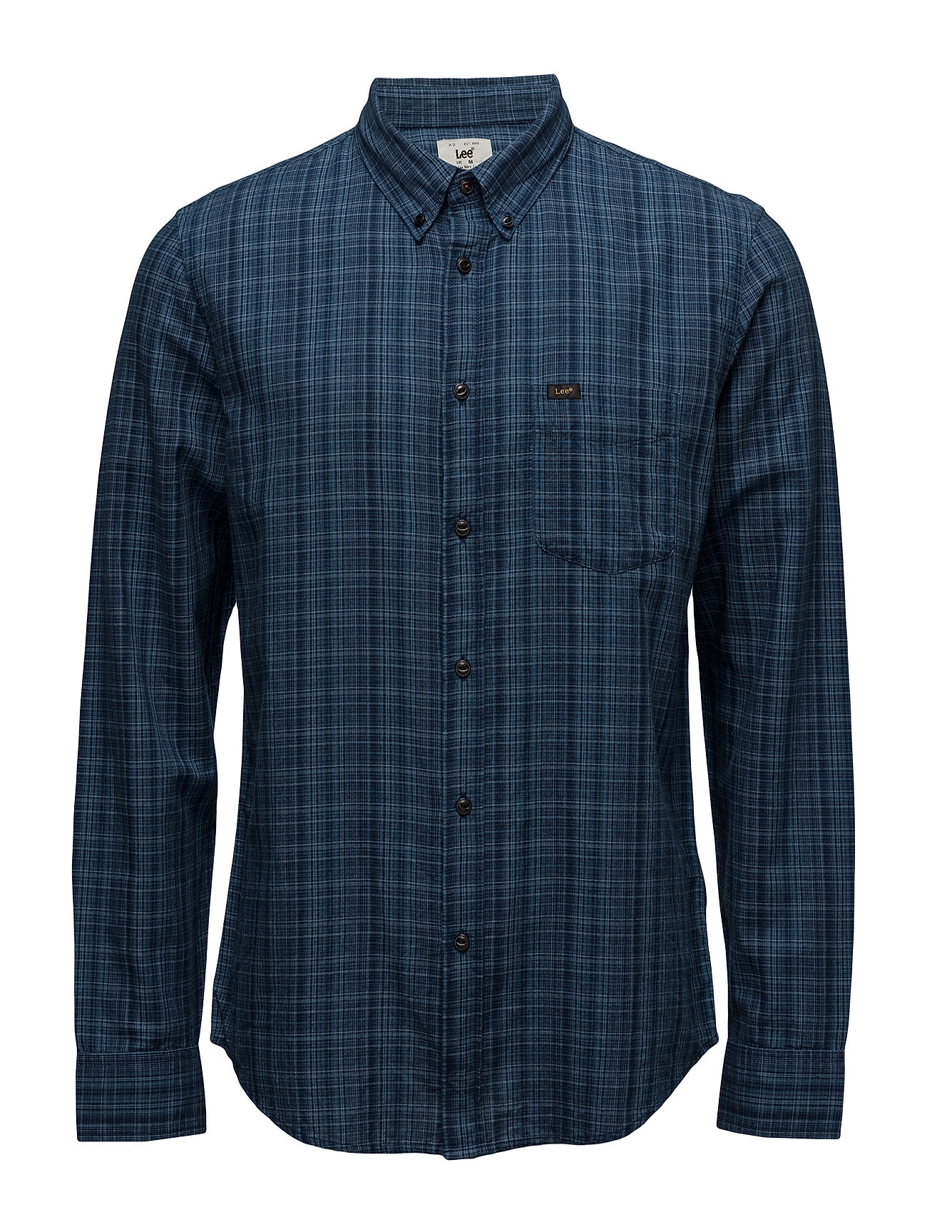 Lee Button Down Deep Indigo Lee Jeans Casual sko til Mænd i Deep Indigo
