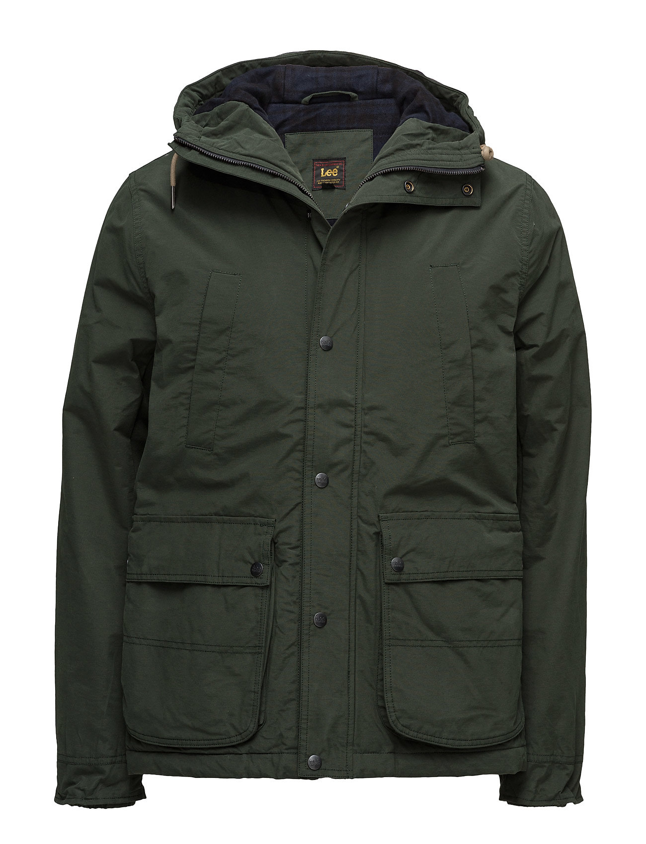 Hooded Parka Forest Green (Forest Green) (£131.60) - Lee Jeans ...