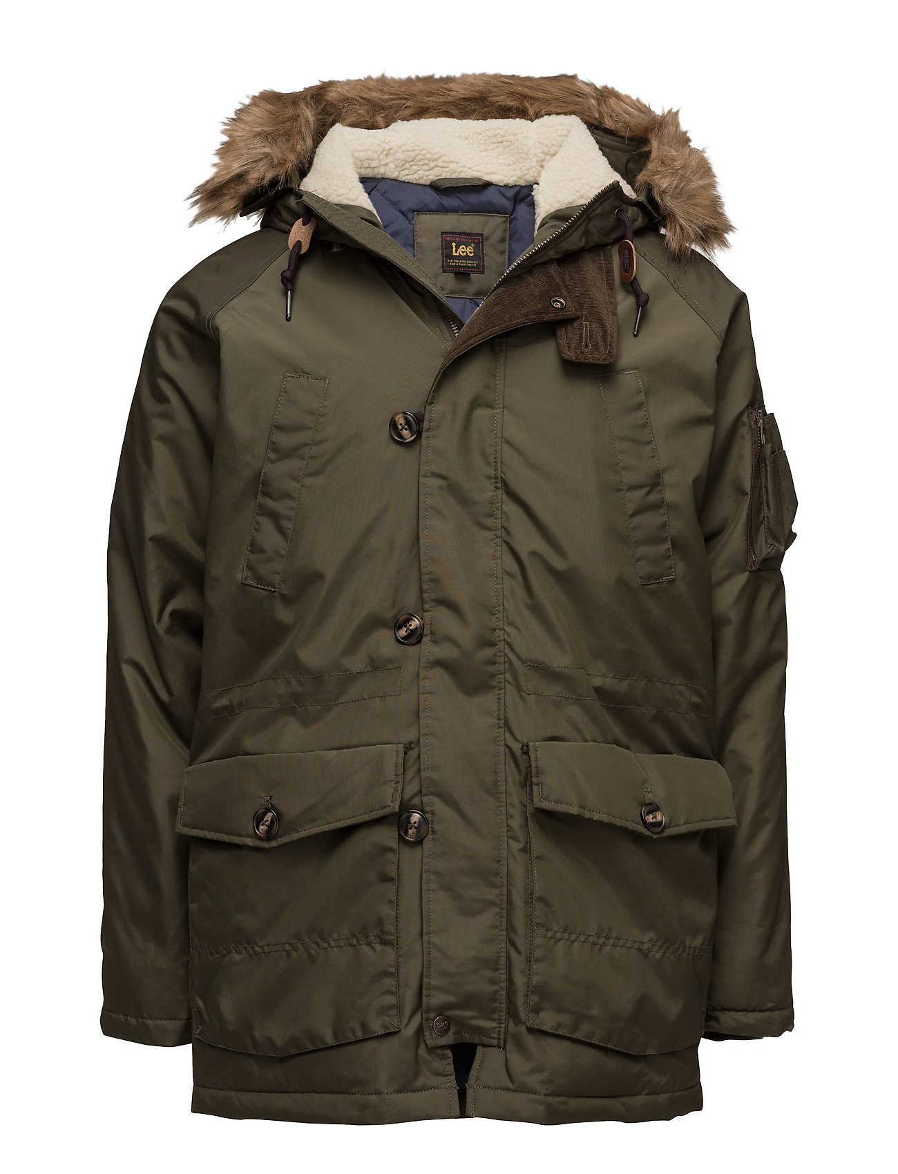 Lee Jeans ARCTIC PARKA MILITARY GREEN