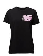GRAPHIC TEE - BLACK BLACK