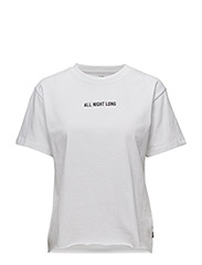 ALL NIGHT LONG TEE - WHITE