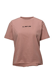 ALL NIGHT LONG TEE - FADED PINK