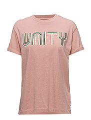 90´S GRAPHIC TEE - FADED PINK