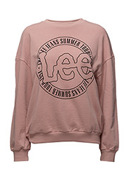 LEE LOGO SWS - FADED PINK