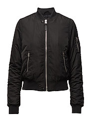 BOMBER JACKET BLACK - BLACK