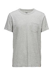 POCKET TEE GREY MELE - GREY MELE