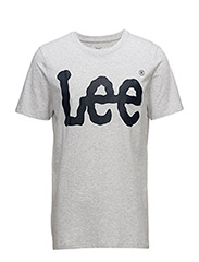 LOGO TEE - SHARP GREY MELE