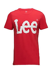 LOGO TEE - BRIGHT RED