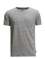 POCKET MELE TEE GREY MELE - GREY MELE