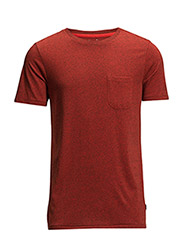 POCKET MELE TEE LAVA RED - LAVA RED