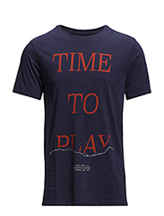 TIME TO PLAY TEE DARK INK - DARK INK