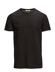 HEAVY WEIGHT TEE BLACK - BLACK