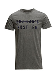 MERCANTILE TEE DARK GREY MELE - DARK GREY MELE