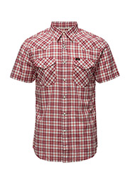 SS WESTERN SHIRT VIBRANT RED - VIBRANT RED