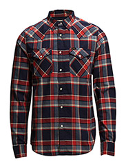 LEE WESTERN SHIRT LAVA RED - LAVA RED