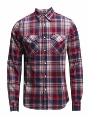 LEE WESTERN SHIRT PRIMARY RED - PRIMARY RED