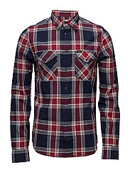 LEE WESTERN SHIRT STATE BLUE - STATE BLUE