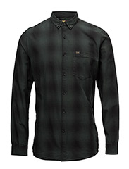 LEE BUTTON DOWN - SPRUCE GREEN
