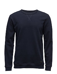 CREW SWEATSHIRT MIDNIGHT BLUE - MIDNIGHT BLUE