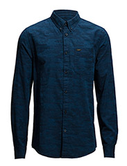 LEE BUTTON DOWN NAVY - NAVY