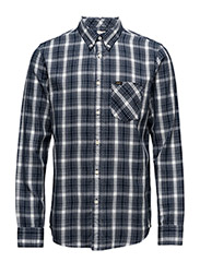 LEE BUTTON DOWN - WASHED BLUE