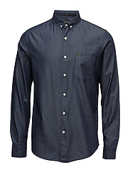 LEE BUTTON DOWN INDIGO - INDIGO