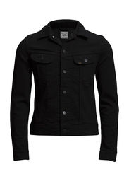 RIDER JACKET CLEAN BLACK - CLEAN BLACK