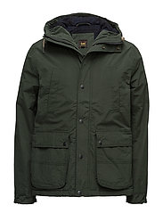 HOODED PARKA FOREST GREEN - FOREST GREEN