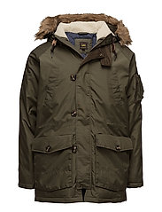 ARCTIC PARKA MILITARY GREEN - MILITARY GREEN