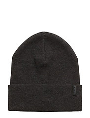 LONG BEANIE BLACK - BLACK