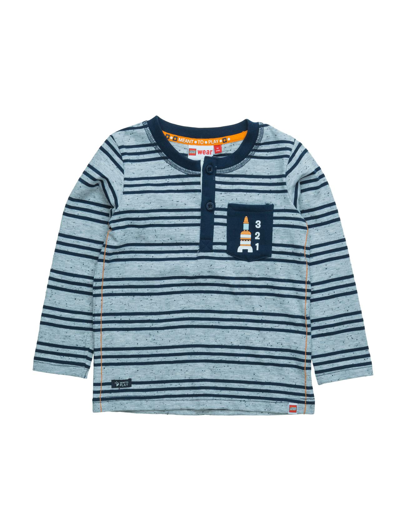 Texas 105 - T-Shirt L/S Lego wear Langærmede t-shirts til Børn i Grey Melange
