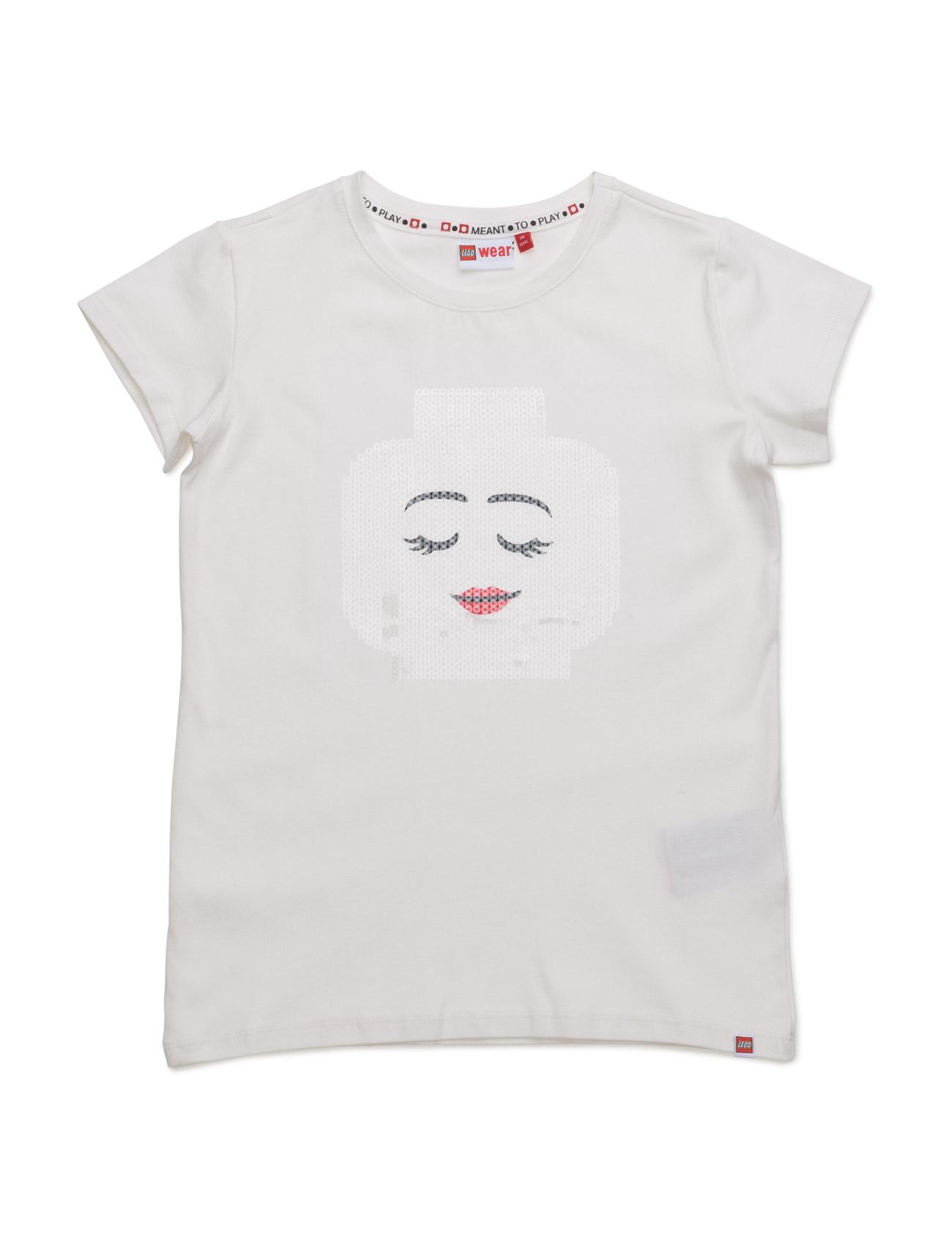 Tallys 101 - T-Shirt S/S Lego wear Kortærmede t-shirts til Børn i Off White