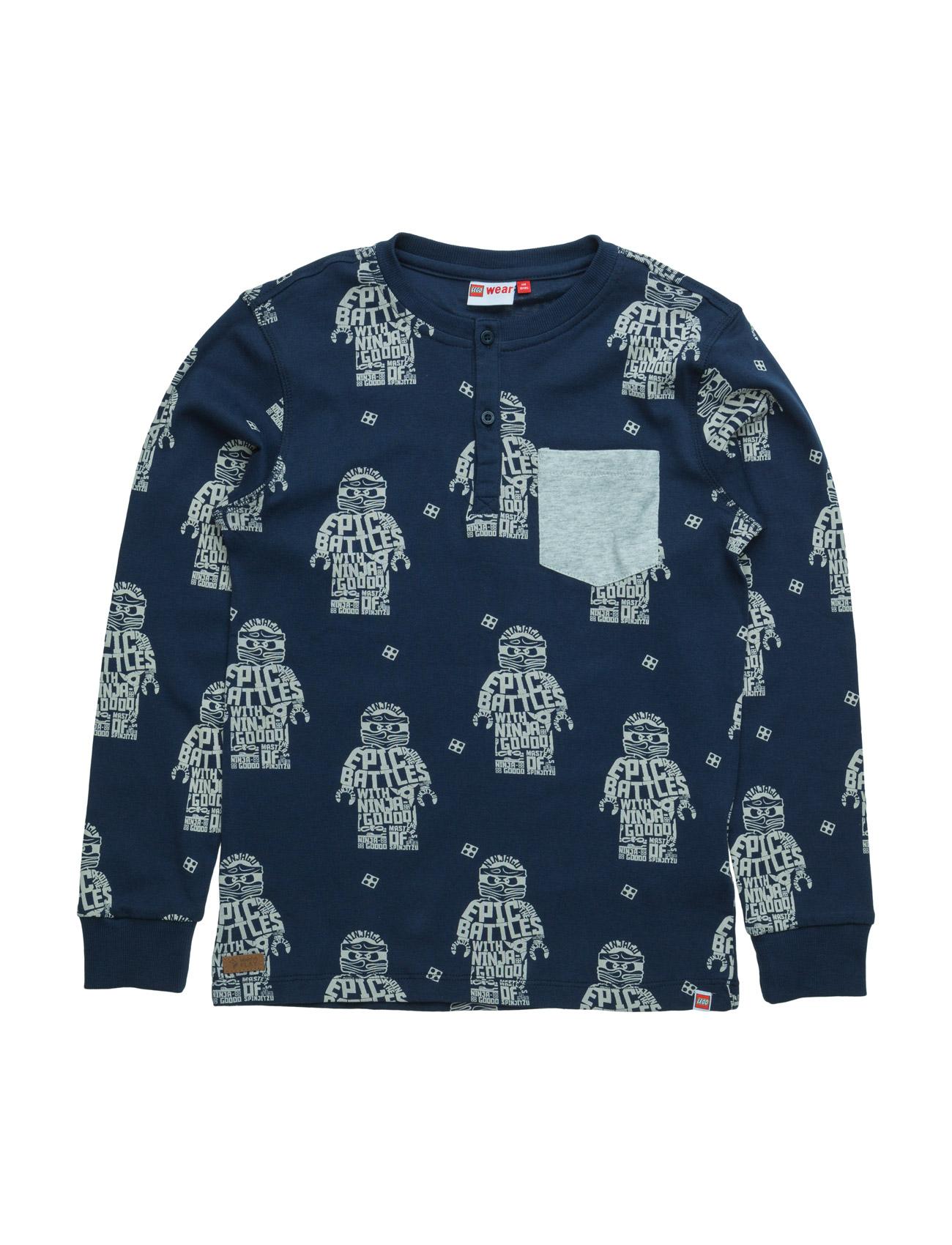 Teo 105 - T-Shirt L/S Lego wear Langærmede t-shirts til Børn i Mørk Navy