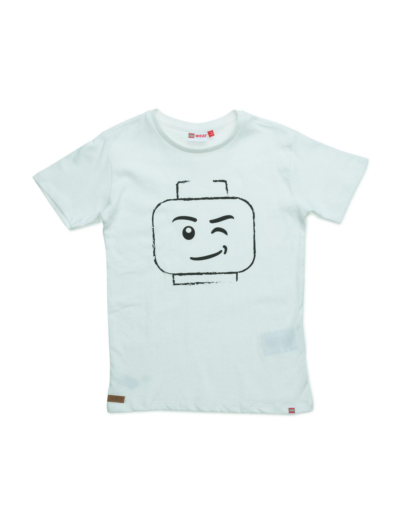 Teo 210 - T-Shirt S/S Lego wear Kortærmede t-shirts til Børn i Off White