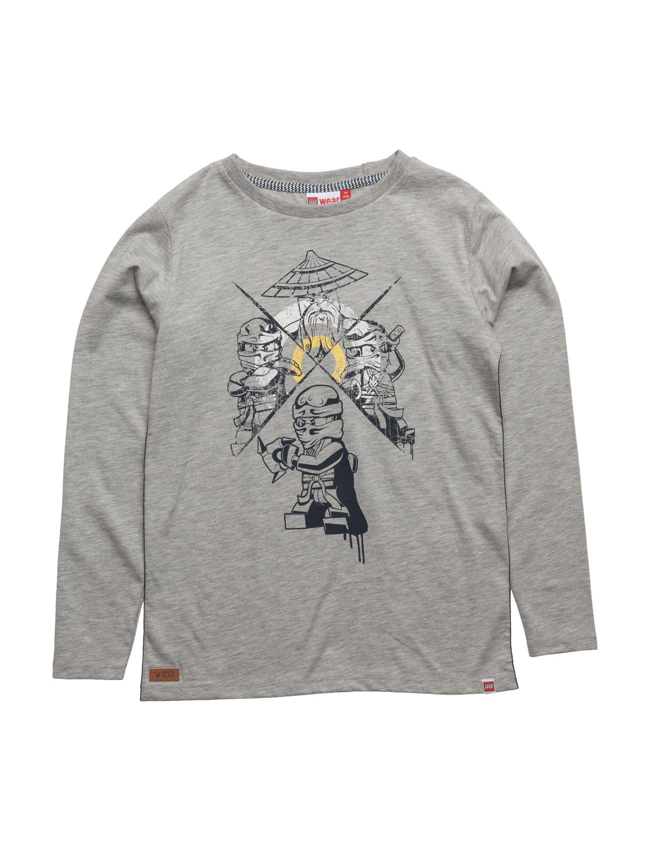 Teo 310 - T-Shirt L/S Lego wear T-shirts til Drenge i Grey Melange