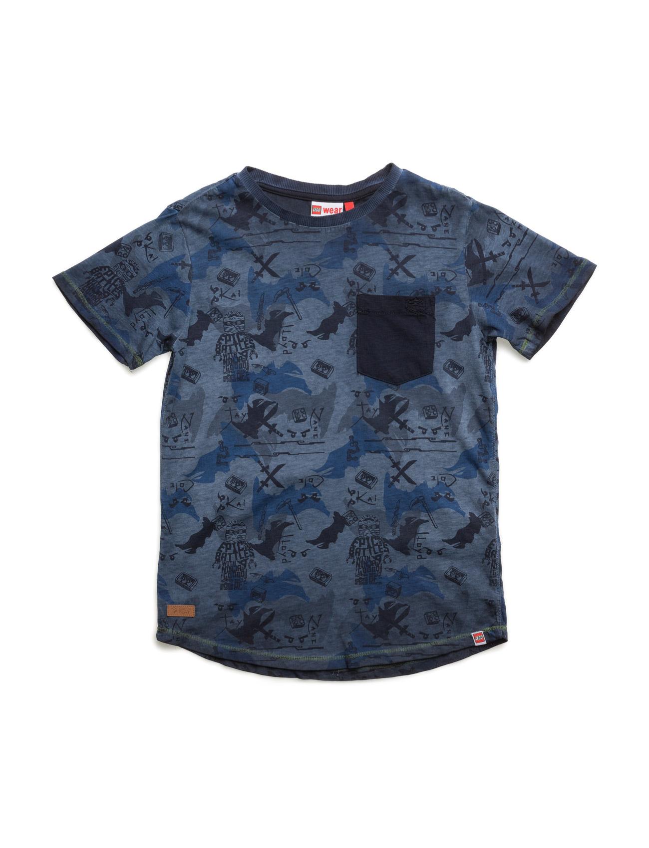 Teo 404 - T-Shirt S/S Lego wear Kortærmede t-shirts til Børn i Mørk Navy