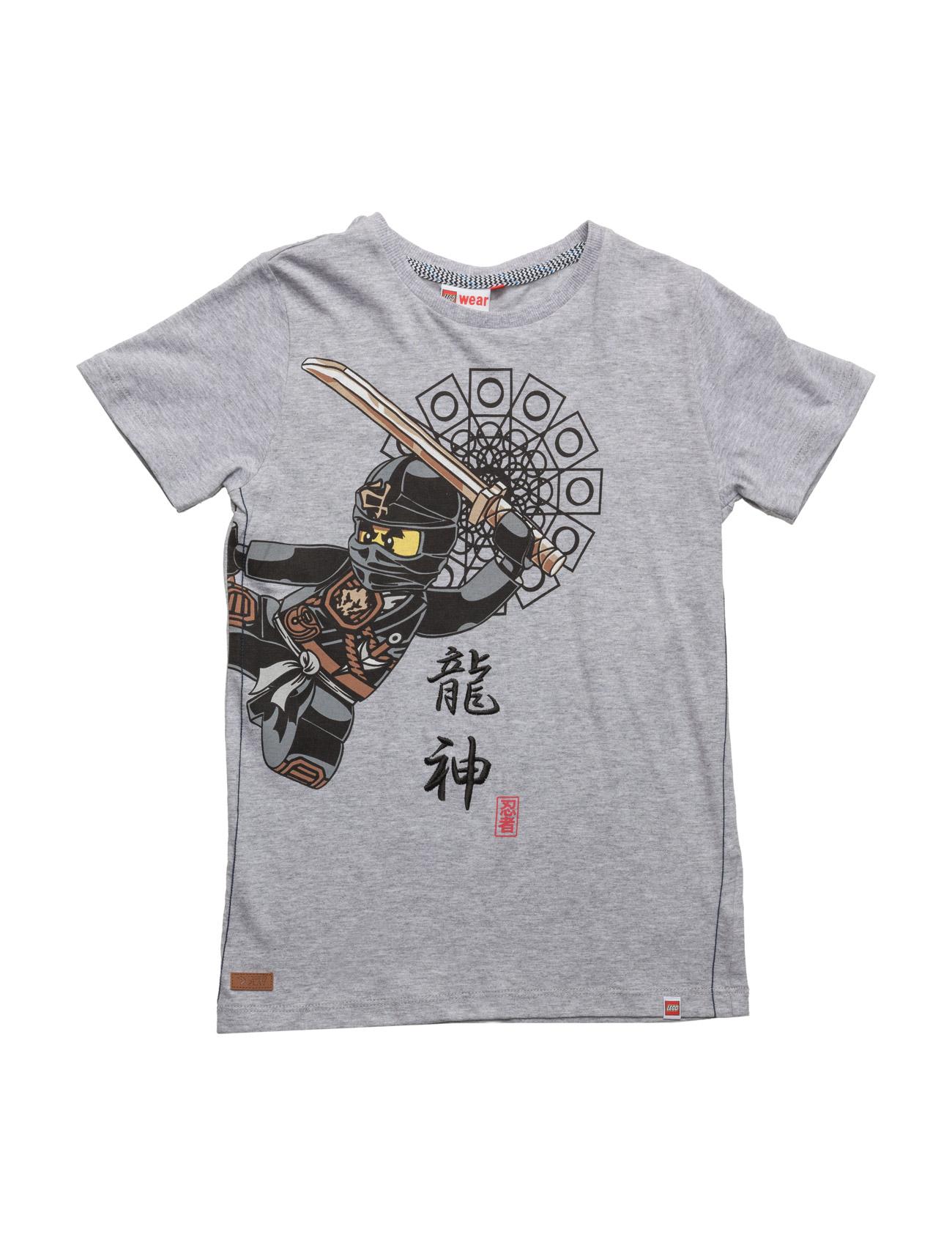 Teo 314 - T-Shirt S/S Lego wear Kortærmede t-shirts til Børn i Grey Melange