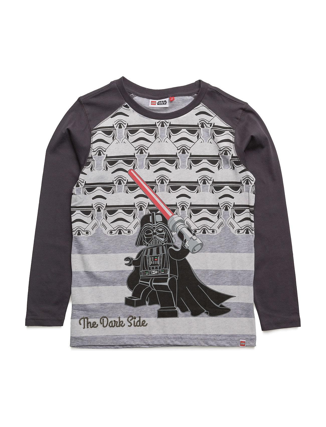 Teo 653 - T-Shirt L/S Lego wear T-shirts til Drenge i Mørkegrå