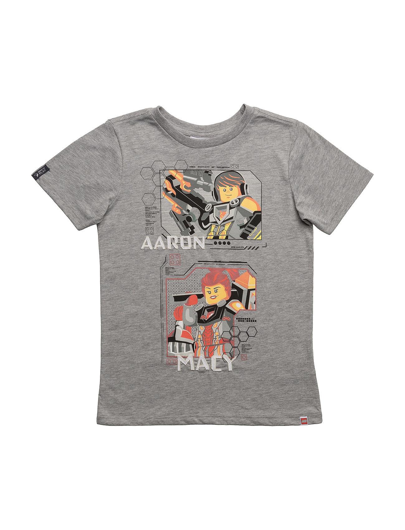 Teo 605 - T-Shirt S/S Lego wear Kortærmede t-shirts til Børn i Grey Melange
