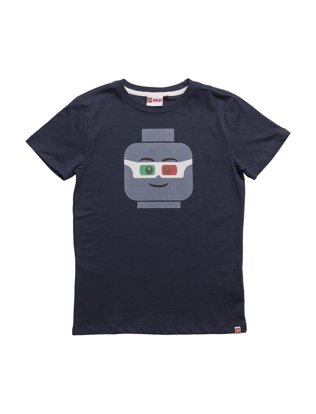 Teo 504 - T-Shirt S/S Lego wear Kortærmede t-shirts til Børn i Mørk Navy