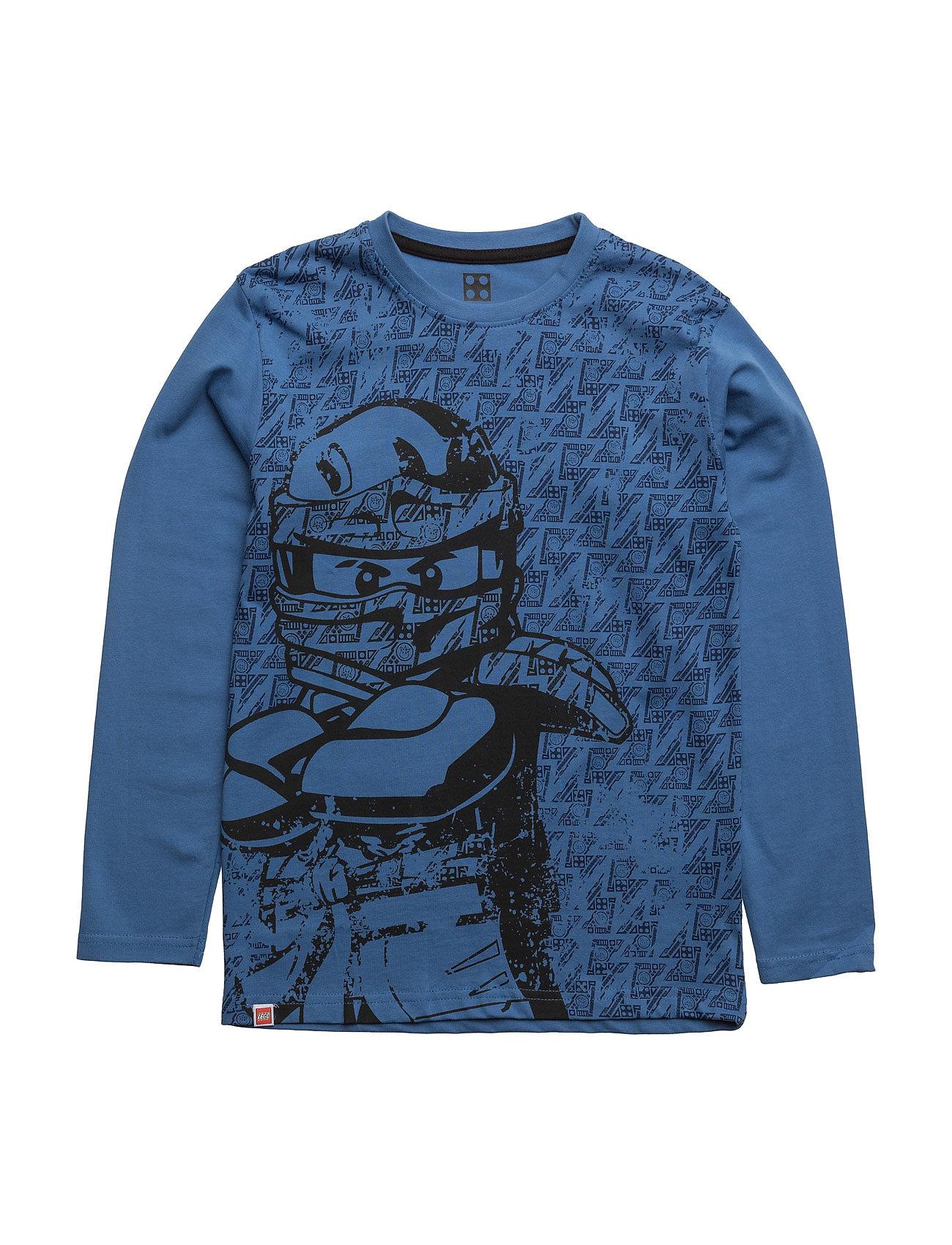 M-71456 - T-Shirt L/S Lego wear T-shirts til Drenge i Blå