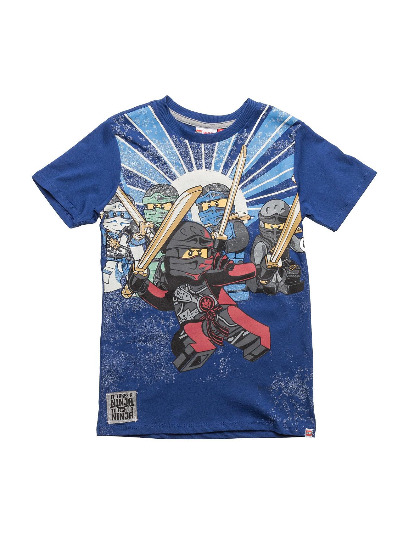 Teo 734 - T-Shirt S/S Lego wear Kortærmede t-shirts til Børn i Mørkeblå