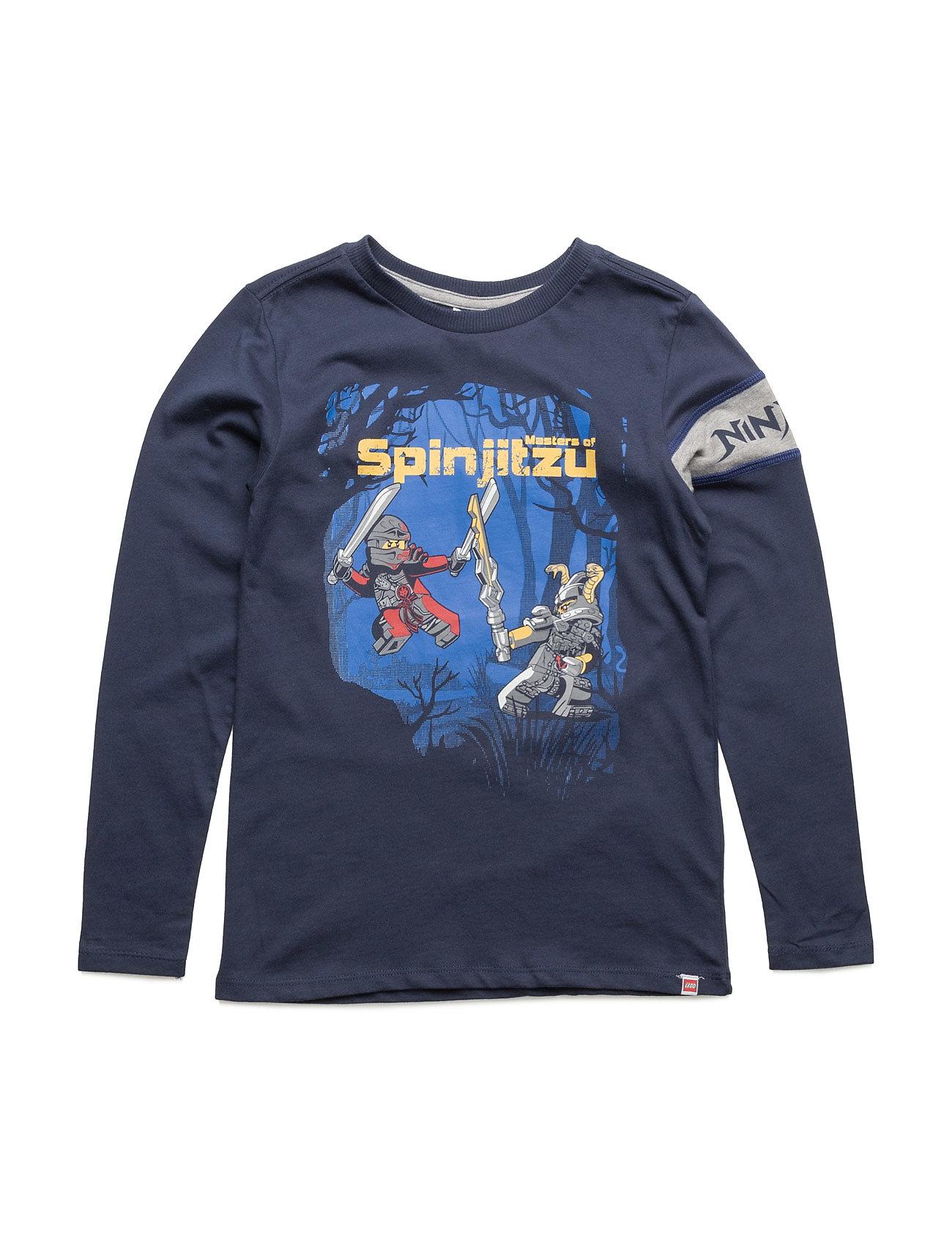Teo 730 - T-Shirt L/S Lego wear Langærmede t-shirts til Børn i Mørk Navy