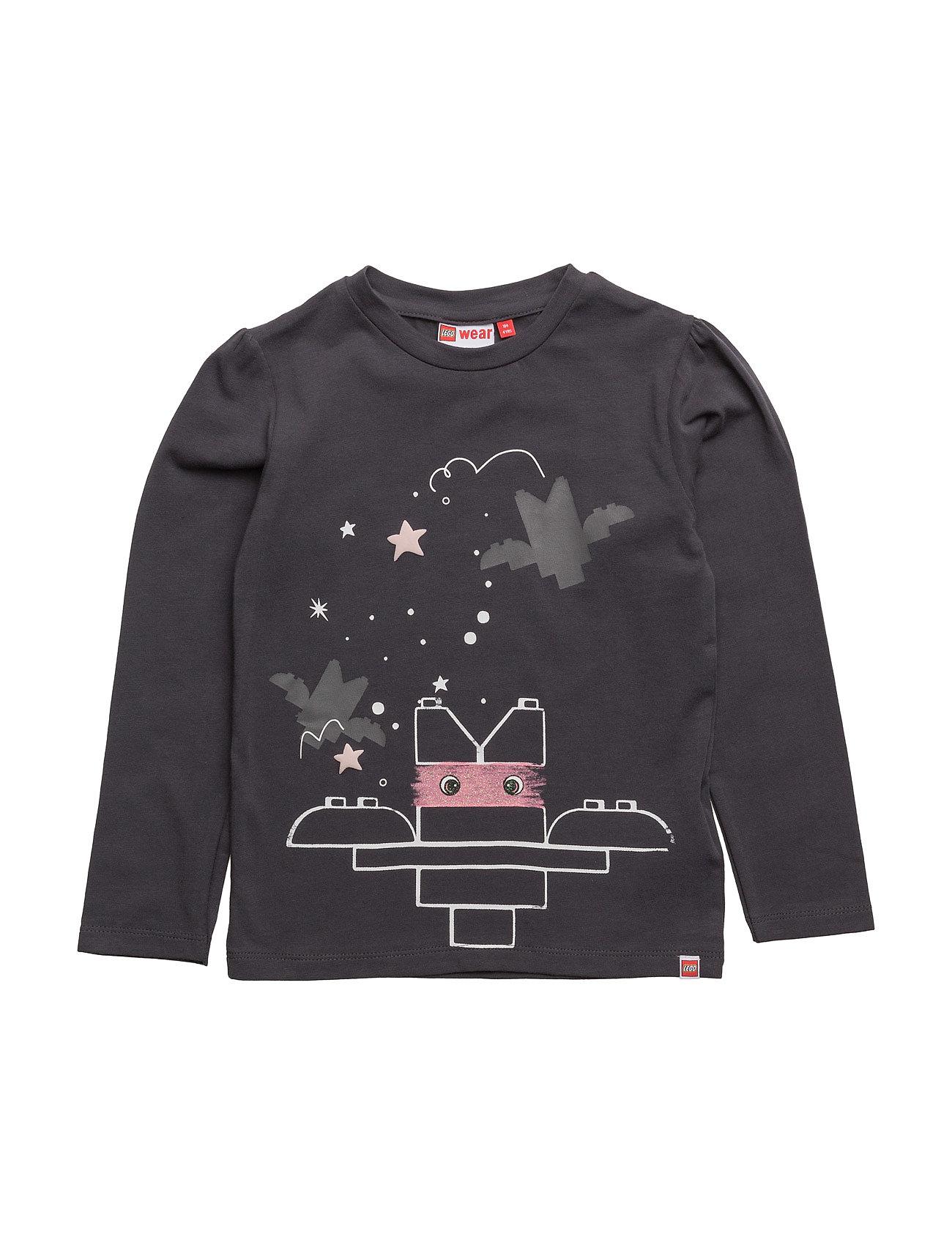 Tia 608 - T-Shirt L/S Lego wear T-shirts til Piger i Mørkegrå