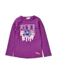 THEODORA 120 - T-SHIRT L/S - PURPLE
